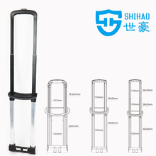 metal trolley handle/leisure luggage handle parts/pull handle trolley