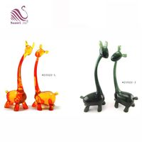 Lovely Natural Factory Design Made Abstract Resin Giraffe Figurine in Resin Crafts for Gifts and Decoration