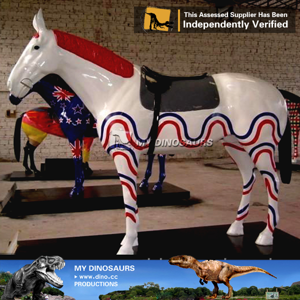My Dino-C049 Amusement park carousel horses on sale