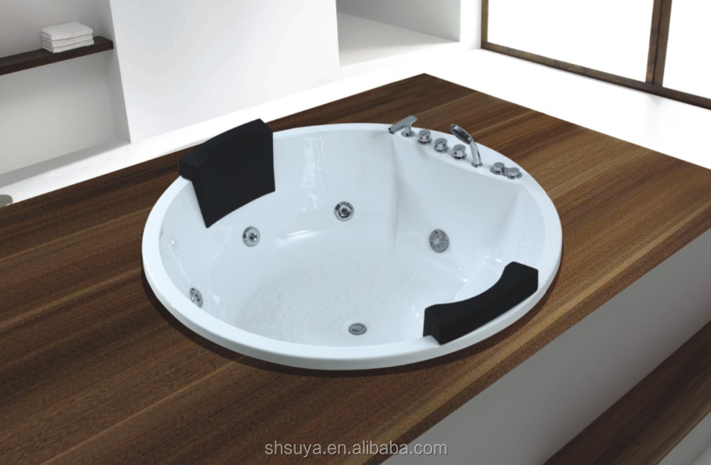 Couple Sex Hot Tub Massage Spa Bathtub Two Person Indoor Spa – Tub for Two