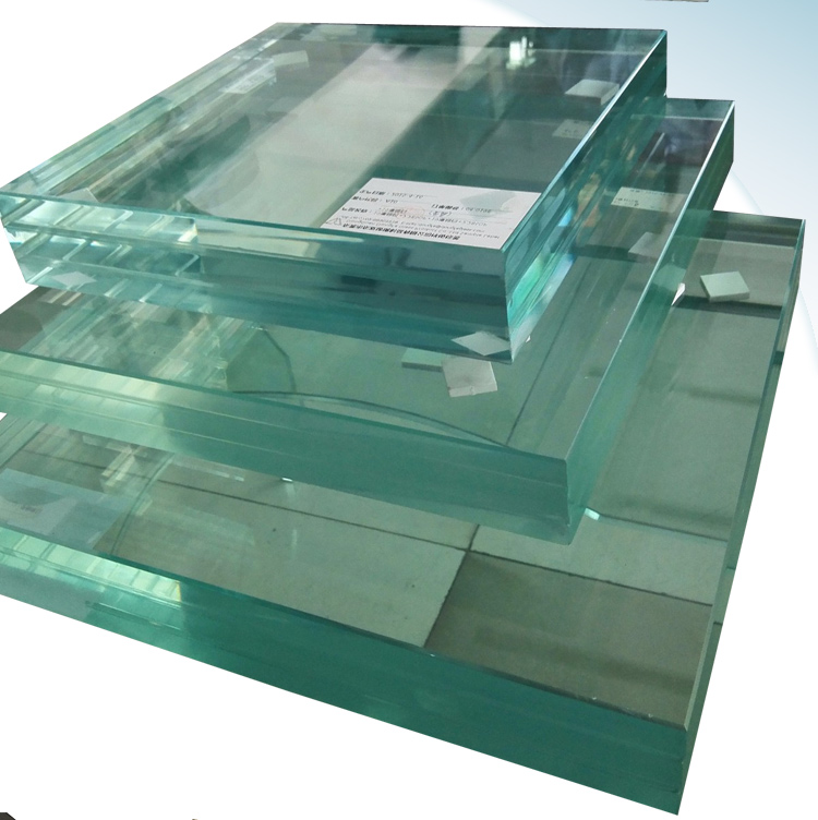 2017 hot sale bullet resistant laminated glass