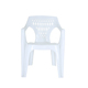Best Selling Strong White Plastic Chair With Armrest