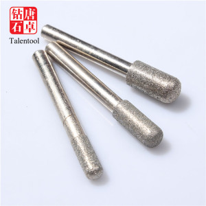 Marble cnc stone diamond engraving tools cutting and diamond burrs for grinding glass