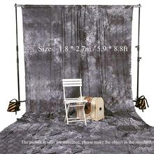Hot Sale ! Background Screen Photography Studio Video Backdrop 1.8 * 2.7m / 5.9 * 8.8ft Tie Dyed 100% Cotton Muslin Backdrop