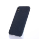 Polyester Microfiber Fabric Cell Phone Case for iPhone X