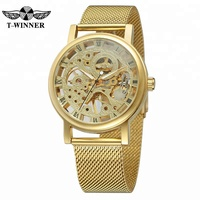Fashion Luxury Hollow Out Watch Casual Women Stainless Steel Mesh Band Watches Unisex Women Men Quartz Wristwatches Clock Hot