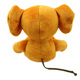 Kids Toys Stuffed Animal Elephant with Orange Color Plush Toy