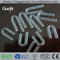 Buy Thermocouple U bend quartz tube for in China on Alibaba.com
