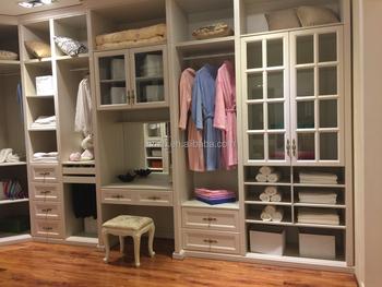 Open Built In Wardrobe Closet
