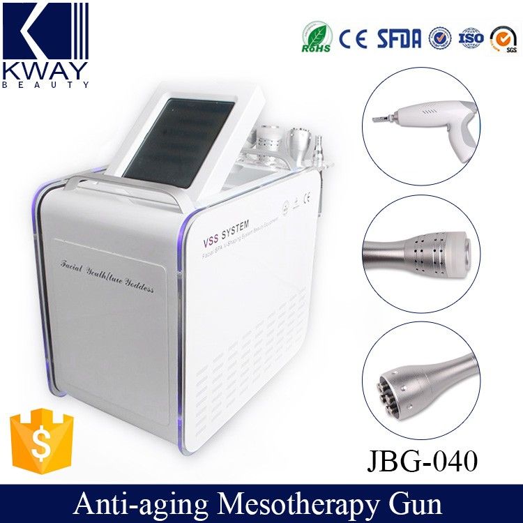 ce approval 4 in 1 multifunction needle free facial mesotherapy beauty instrument
