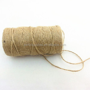 Jute twine hemp string for gift tag gift wrapping