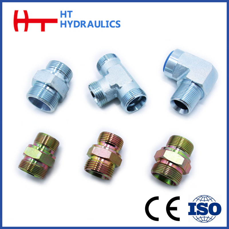 HuaTai High Quality steel Hydraulic Adapter Flange Pipe Fitting