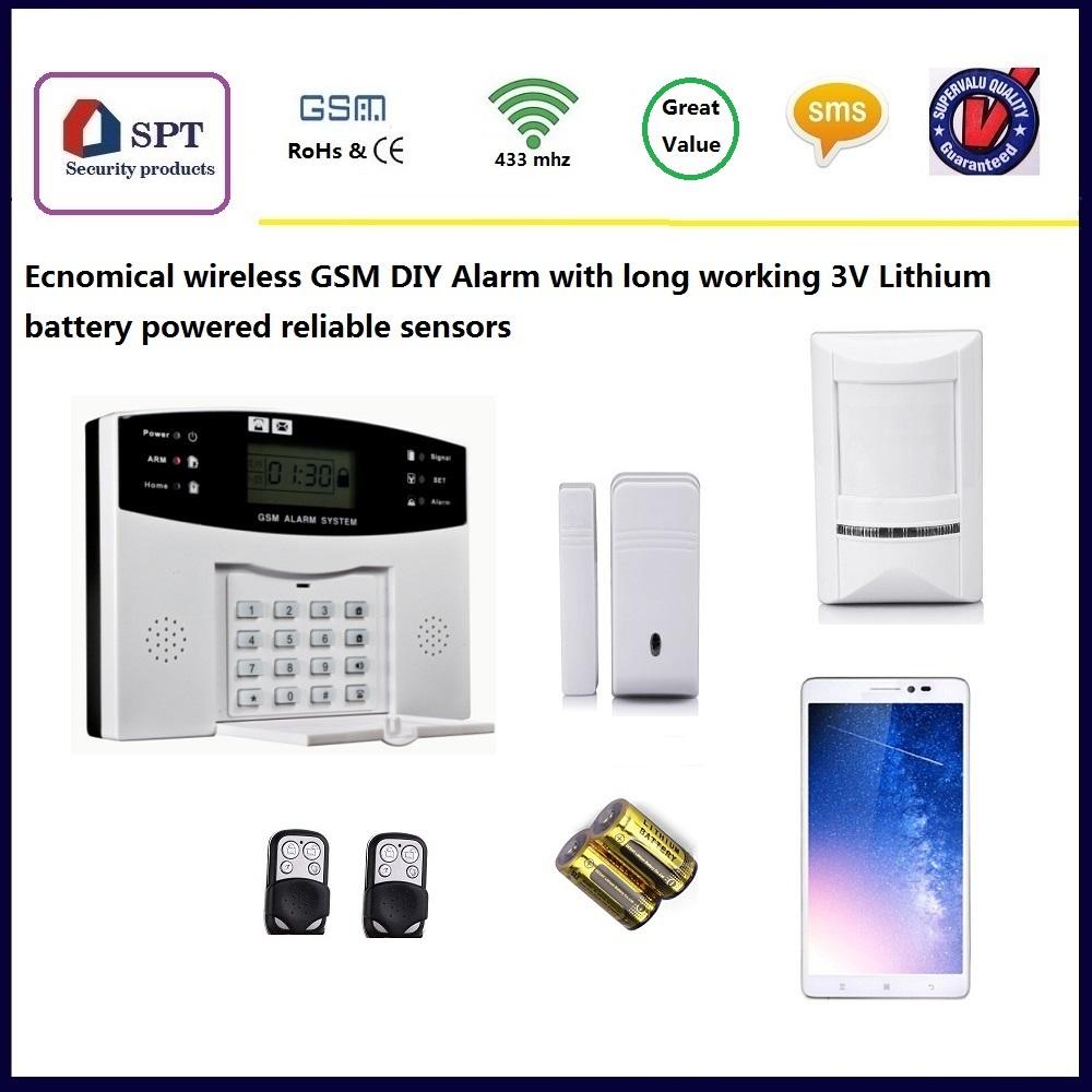 Security Gsm Alarm System User Manual Buy Burglar Powered By Battery Manualsecurity Alarmalarm Product On