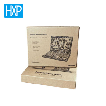 Cardboard box 1-Layer Grey board Custom printed corrugated cardboard phone packaging box