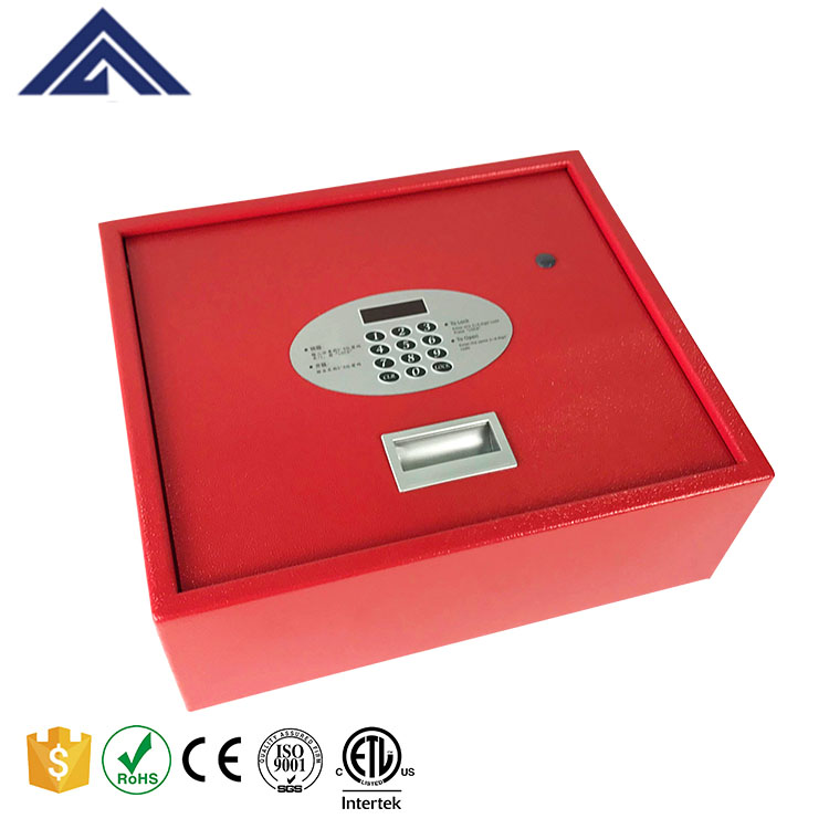 intelligent Security Hotel Room Laptop Safe cash Box with digital locker