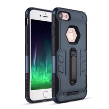 Anti-skid Hard Plastic Double Cell Phone Case for iPhone 7 7plus
