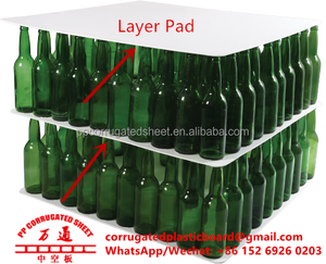 PP Plastic Layer Pad for glass bottle