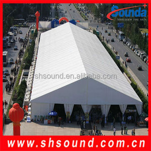 High quality PVC stretch tent fabric