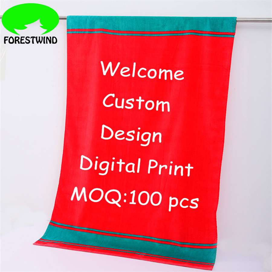 Promotional Gift Digital Printed Towel 100% <strong>Cotton</strong>