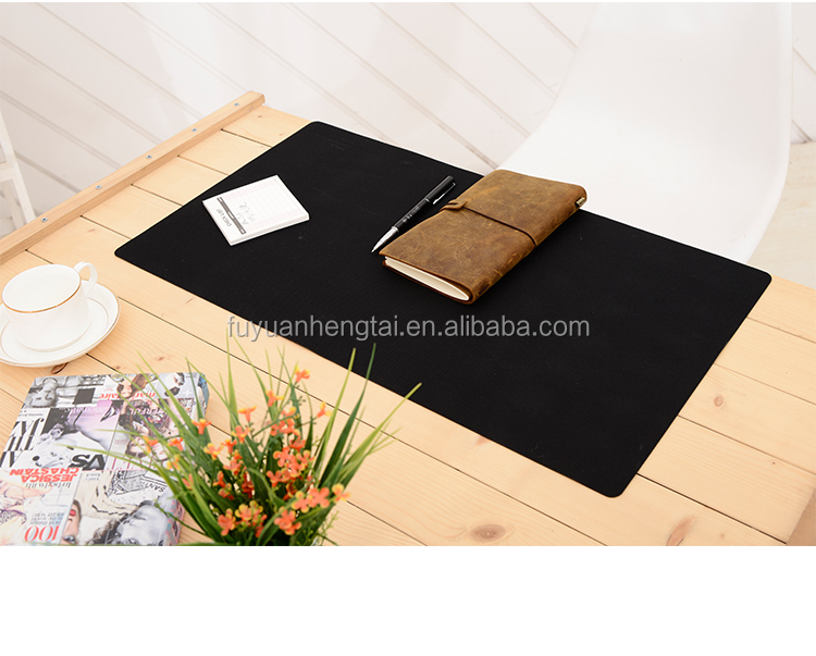 Wool soft felt laptop pad felt table mat for leisure time family daily use