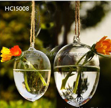 2015 wholesale tall glass flower vase for flowers and water plant