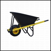7 CBF Large Heavy Duty Construction Steel Wheelbarrow
