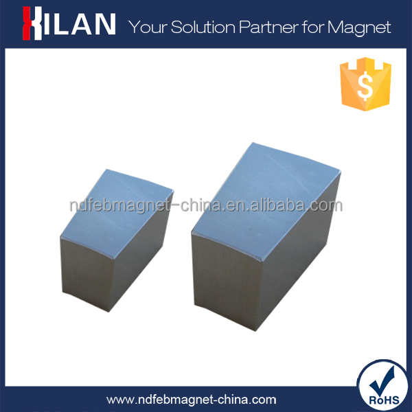 China Permanent Magnet Supplier Strong N50 Neodymium Block Magnet For Sale