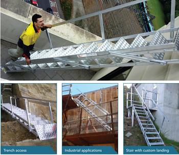 Tragbare Treppen Einstellbare Treppenstufe Hohe Tragbare Faltbuhne