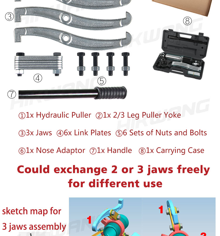 China wholesale hydraulic puller ram bearing puller gear puller