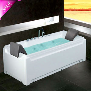 Small Corner 2 Person Jetted Tub Shower Combo