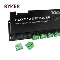 24 Channel DMX 512 DIP SWITCH Control LED Decoder&Driver