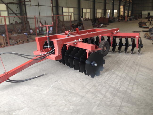 Top Level Economic compact tractor offset disc harrow