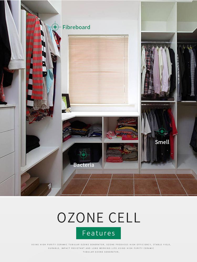 Tube d'ozone en céramique 5 g/h générateur d'ozone pour le traitement de l'eau générateur d'ozone d'aquarium