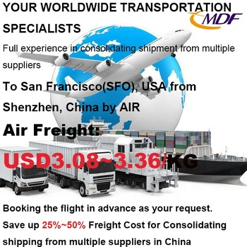 Air Shipping Service to San Francisco(SFO), USA from China/ Cheapest freight forwarder China/ Air freight to San Francisco, USA