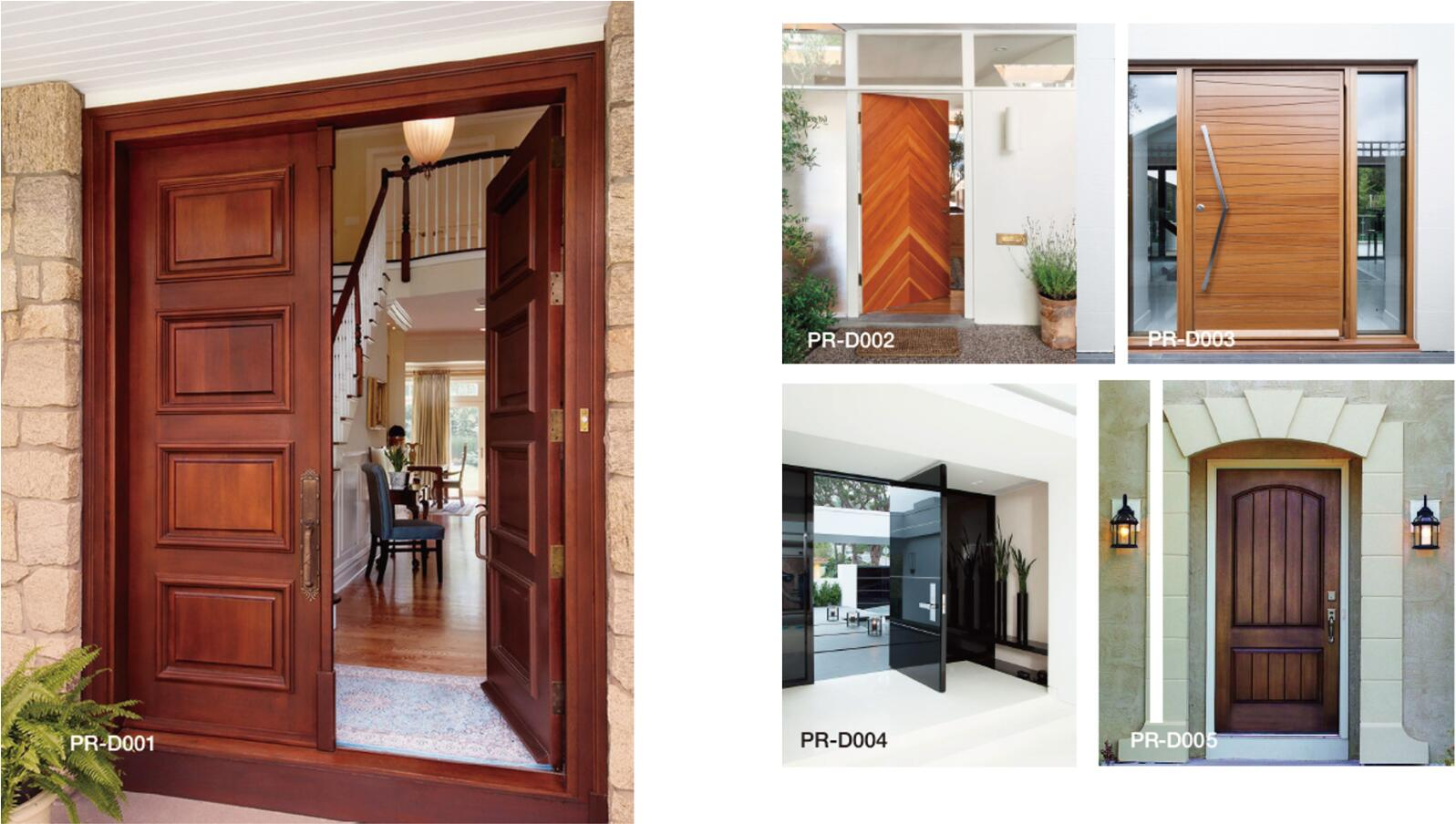 China factory low cost design low price Interior Wooden Doors