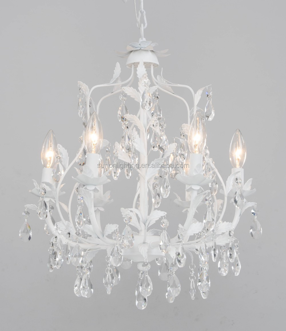Ul Approval Flower Shaped White Small Pendant/small Chandelier Light ... for Flower Shaped Chandelier  110yll