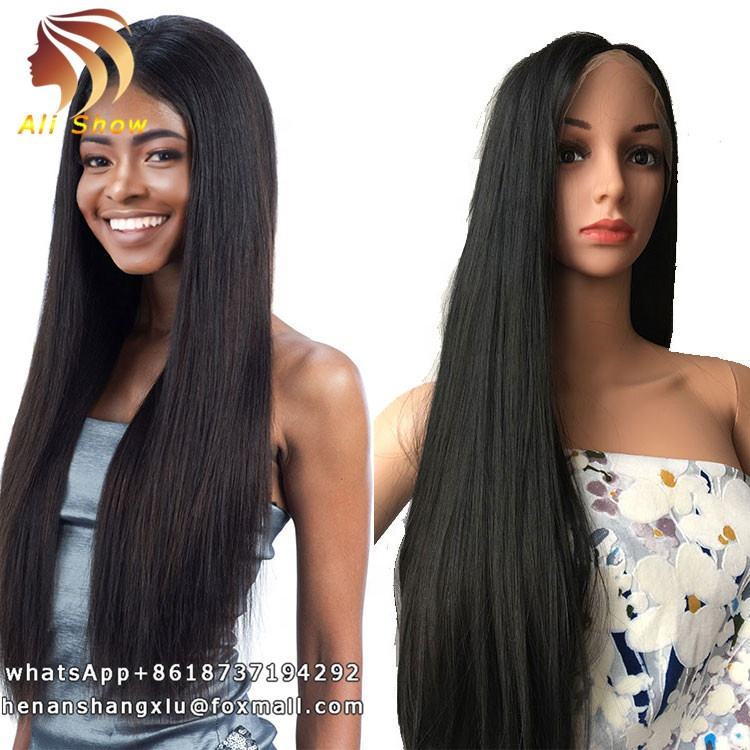 Cheap <strong>Full</strong> <strong>Lace</strong> Straight <strong>Synthetic</strong> <strong>Wigs</strong> With No Bangs 14 16 18 20 22 24inch <strong>Lace</strong> <strong>Wig</strong> Vendors