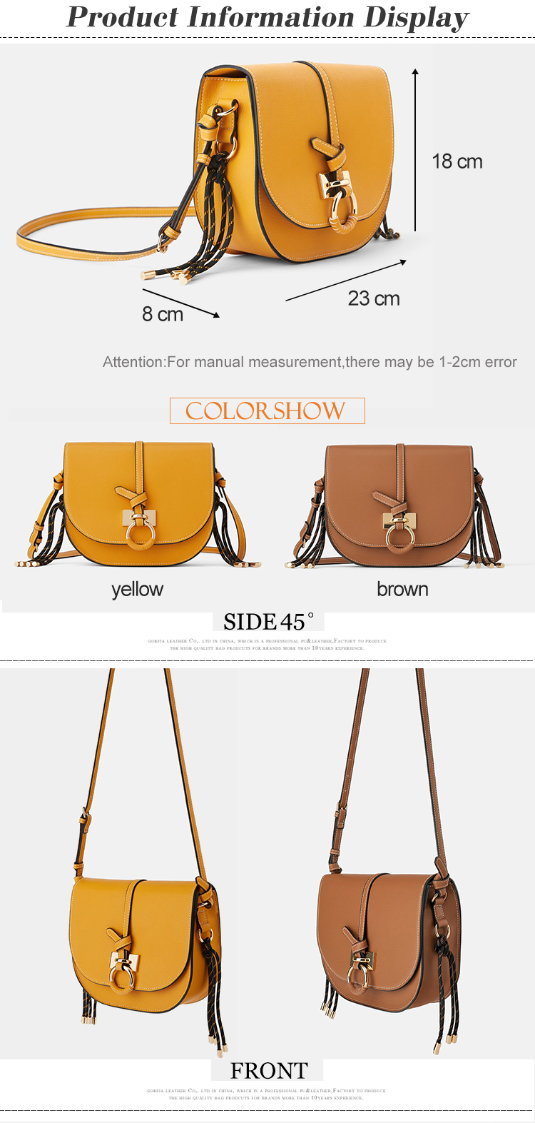 customized pu leather fashion ladies crossbody side bag female shoulder handbag purse