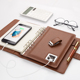 Diary Notebook With Power Bank And USB