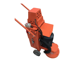 Concrete cement floor refurbished clean grinding machine