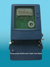 Three-Phase Static Multifunction kWh Meter