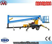 Towable trailer Articulated Lift Lift Mechanism boom lift