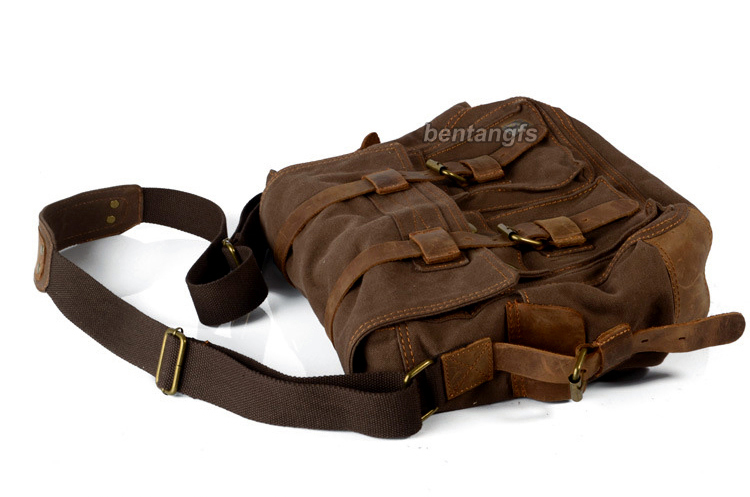 2ae7bd20558ef Detail Feedback Questions about I AM LEGEND Will Smith military canvas +  Genuine leather Men messenger bag canvas shoulder bag men Crossbody Bag  Casual Bag ...