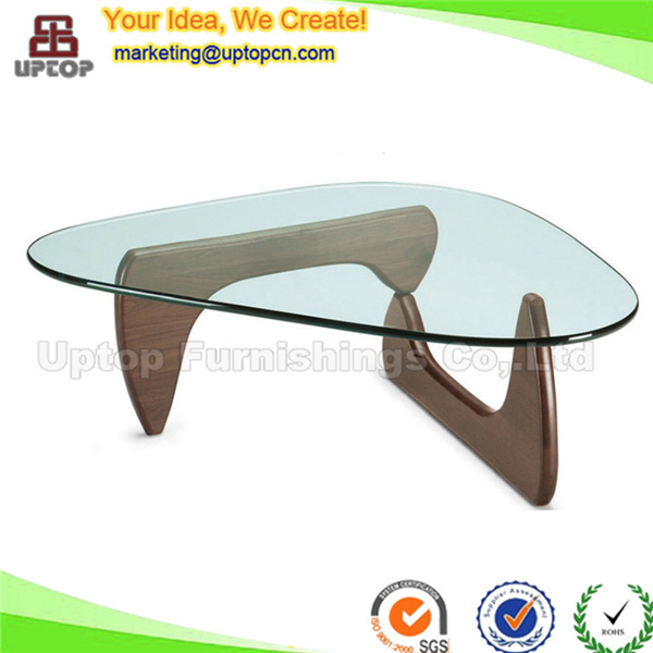 (SP GT417) Master Design Furniture Wooden Glass Top Triangle Conference  Table