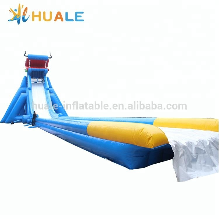 Large Chinese dragon inflatable water slide with CE air blower