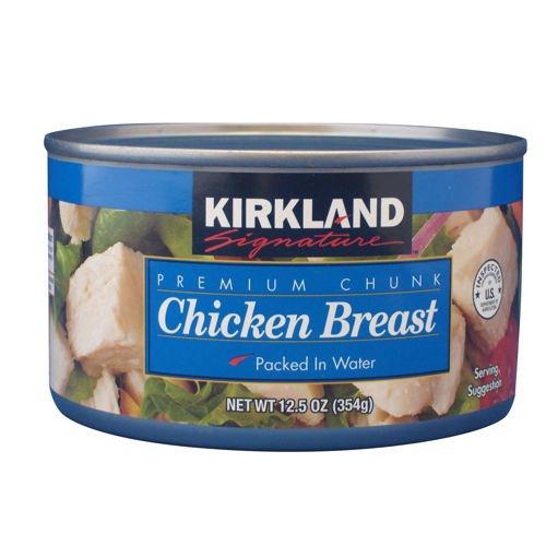 Kirkland Signature Premium Chunk Chicken Breast 12.5oz 24-pack