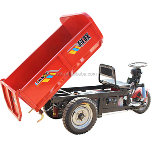 Hot sale cargo electric mini dump truck/big capacity mini dump electric truck for cargo/Lianke electric cargo truck mini dumper