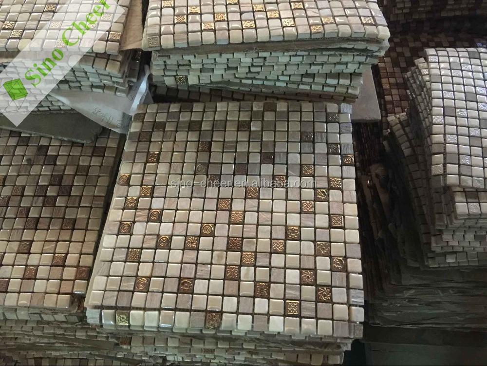 qj005 mosaico bagno economici,mattonelle di mosaico bisazza ... - Bagni Mosaico Bisazza