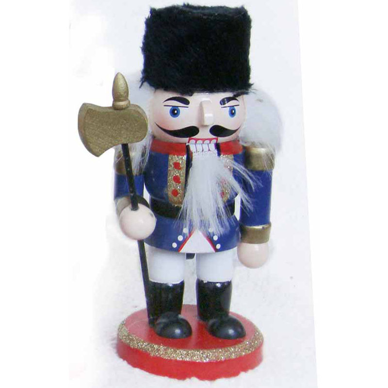 buy 1pcs wood crafts home decorations tin soldier nutcracker puppet villain walnut wood craftschristmas giftsbirthday giftstoys in cheap price on