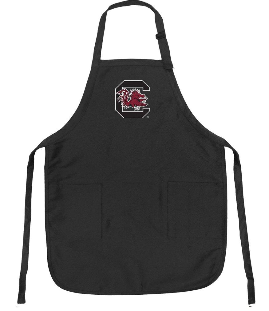 Official University of South Carolina Aprons Deluxe South Carolina Gamecocks Apron w/ Pockets